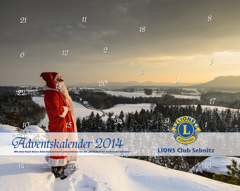 Benefiz Adventskalender 2014 des Lions Club Sebnitz